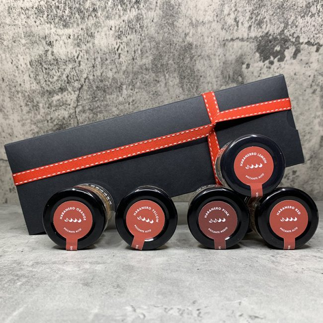 5 Pepperuko Set - 5 x 10g. Jar photo