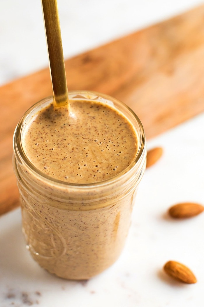 Chili Almond Butter Dressing